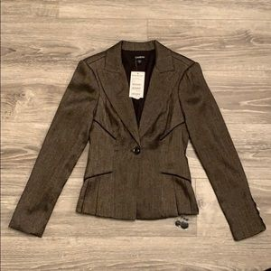 Bebe Brown Blazer. New with tags.